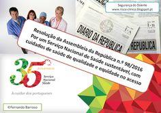 SEGURANÇA DO DOENTE: Por um SNS sustentável, com cuidados de saúde de q...
