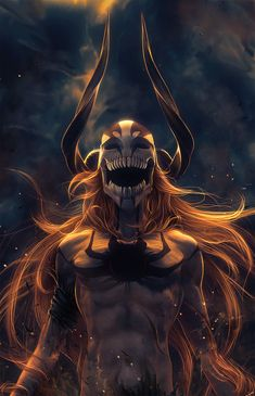 Ichigo Kurosaki, Hollow form, Bleach Rampage by *Wen-JR on deviantART