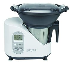 Jupiter Thermomaster – Robot de cocina (Negro, Acero inoxidable, Color blanco, 5.35 kg, 41 cm, 24 cm, 50/60 Hz, 230V) - http://vivahogar.net/oferta/jupiter-thermomaster-robot-de-cocina-negro-acero-inoxidable-color-blanco-5-35-kg-41-cm-24-cm-5060-hz-230v/ -