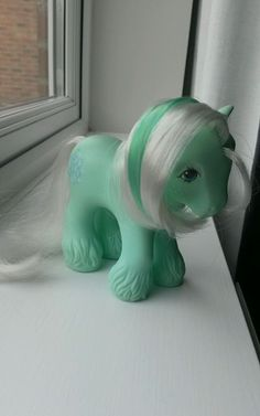 Sold £69.00 My Little Pony G1 Ice Crystal Green White 87 in Toys & Games, TV & Film Character Toys, TV Characters | eBay