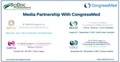 SciDoc Publishers extend its proud Media Partnership With CongressMed