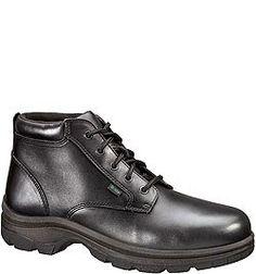 834-6906 Thorogood Men's Soft Streets Uniform Chukkas - Black