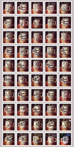 The worlds best mugs, and they are the best. Pottery World, Hornsea Pottery, Shop Window Displays, Over The Years, The Best, Shops, Mugs, Retro, Vintage