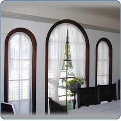 Pictures of Arched Window Coverings - Browse Window Blinds Project. Need for bathroom so I can see to get ready n morning curve windows are hard to cover