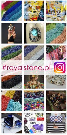 Zajrzyj na nasz profil na Instagramie. Zobacz Royal-Stone Akcesoria do tworzenia biżuterii w różnych mediach społecznościowych. Na Instagramie znajdziesz nasz profil wpisując #royalstone.pl Zobacz nasze fotostory. Weź udział w zabawie #instaczwartek, w której publikujemy Wasze prace na naszym instagramowym profilu. #instaczwartek przewrotnie znajdziecie na naszym facebooku - fb/fanpageroyalstone