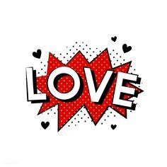 Love explosion vector