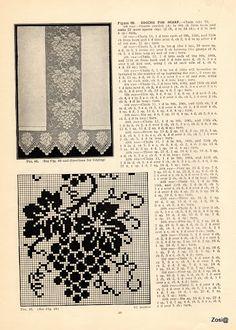 Priscilla Filet Crochet Book No 2. Edited by Mrs. F.W. Kettelle, Augusta, Maine, 1925 - Zosia - Álbumes web de Picasa