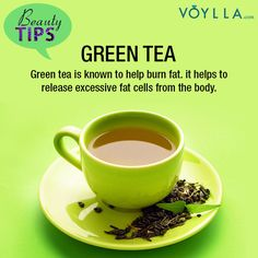 Tip of the Day: Have green tea and stay fit!  #healthtips #jewelry #voylla #alwaysbeautiful