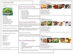 insid the almost zero carb meal plan
