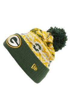 New Era Cap  Retro Chill - Green Bay Packers  Knit Hat New Era Cap 831251d0e