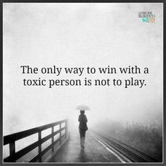 Stop playing and move on!