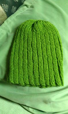 Green ribbed hat, adult Mittens, Knitted Hats, Panda, Scarves, Knitting, Green, Etsy, Fashion, Fingerless Mitts