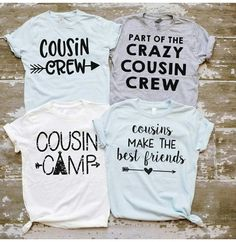 d46631018668 Cousins Shirts, Family Shirts, Our Kids, Diy For Kids, Cute Girl Outfits