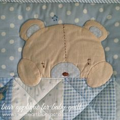 sew with heart: baby quilt for boy & girl...^^