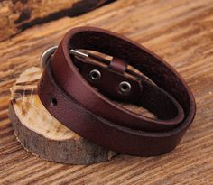 Mens Leather Bracelet Wristband. Band Width. Genuine leather, alloy. Main Color. We have producing factory, and teams for QC and Marketing, we are strict with quality control and provide with good online and after-sale service.   eBay!