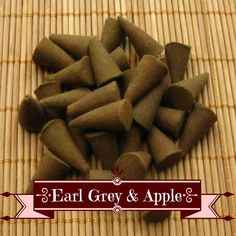 Earl Grey & Apple Incense Cones