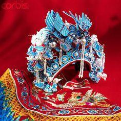 Chinese Headdress | Chinese bridal headdress