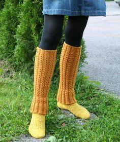 Ulla 03/11 - Ohjeet - Penni Woolen Socks, Knitting Socks, Knit Socks, Leg Warmers, Mittens, Slippers, Legs, Crochet, Pattern