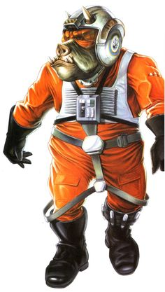 "Voort ""Piggy"" saBinring Biographical information Physical description Chronological and political information Voort saBinring, or ""Piggy"", was a Gamorrean male and member of Wraith Squadron from its inception in 7 ABY through the Yuuzhan Vong War."