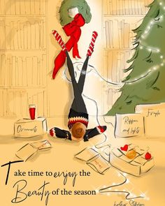 Take Time to Enjoy the Season – Heather Stillufsen Holiday – Christmas Illustration – Art for Women – Quotes for Women – Art for Women – – Modalbox Christmas Mood, Christmas Quotes, Christmas Pictures, All Things Christmas, Christmas Riddles, Christmas Ideas, Merry Christmas, Winter Things, Holiday Images