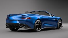 Aston Martin have unveiled their brand new convertible supercar - the Vanquish S Volante. Good time of year to bring out a convertible, isn't It?