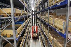 Das neue Logistikzentrum von Gildemeister - Lindig Fördertechnik liefert die Intralogistik.     Mehr Infos:   http://www.mm-logistik.vogel.de/foerdertechnik/articles/382148/