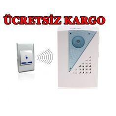 Kablosuz Kapı Zili- ÜCRETSİZ KARGO 16,90 TL eMc Teknoloji'den Sanalpazar.com'da