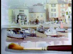 Alwyn Crawshaw paints Polperro Harbour - YouTube