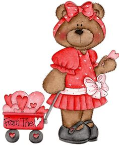 FROM THE HEART TEDDY BEAR