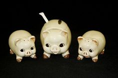 This little piggy...for your table. I know someone who has these.