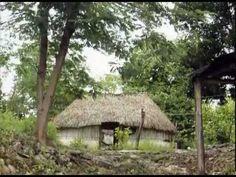 Aztekowie i Majowie - YouTube Gazebo, Outdoor Structures, Cabin, House Styles, Youtube, Plants, Garden, Decor, Dekoration