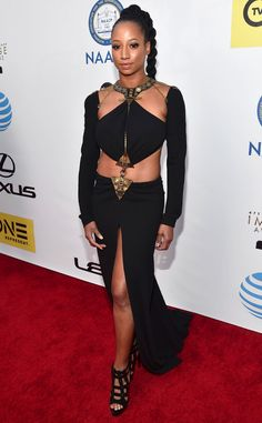 Monique Coleman from NAACP Image Awards 2016: Red Carpet Arrivals | E! Online