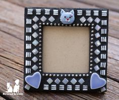 Rescue Jewels Mosaic Handmade Kitty Cat Picture by RescueJewels