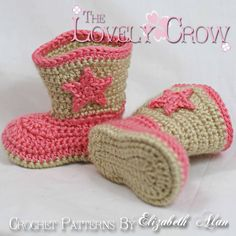 Pretty Image of Crochet Baby Cowboy Boots Pattern Free Crochet Baby Cowboy Boots Pattern Free Crochet Pattern Cowboy Boots For Ba Boot Scootn Boots 595 Via Crochet Boots Pattern, Crochet Baby Hat Patterns, Crochet Baby Booties, Crochet Slippers, Baby Patterns, Hat Crochet, Knitting Patterns, Crochet Flower, Crochet Cowboy Boots
