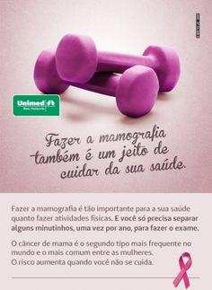 Campanha da UNIMED contra o câncer de mama