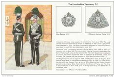 THE LINCOLNSHIRE YEOMANRY UNIFORM c 1912