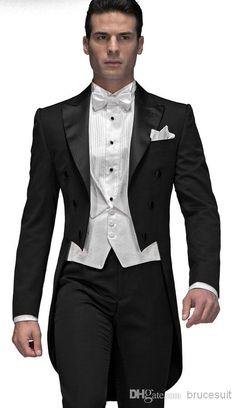 Elegante Bridegrom Schwarzen Frack #gentlemen #gentleman #man #stylish #fashion #cavalier