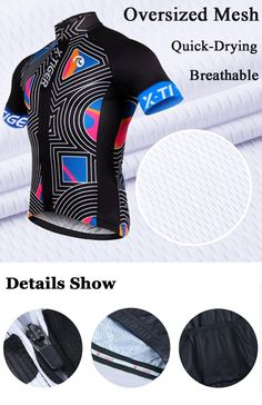 70eaab180 Summer Short Sleeve Breathable Pro Cycling Clothing Quick-Dry Cycle Clothes  Ropa Ciclismo Racing Bike Cycling Jerseys