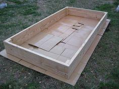 Good tutorial for building a raised vegetable garden cardboard under to prevent…