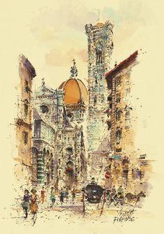 001 Firenze – La Cattedrale
