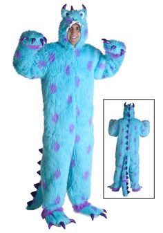 Adult Sully Costume  sc 1 st  timehd & Adult Sully Costume 20183 | TIMEHD