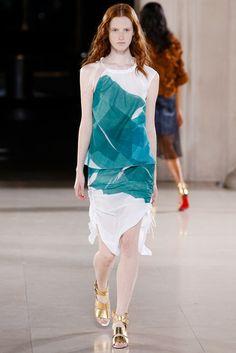 Jonathan Saunders Spring 2015 Ready-to-Wear Fashion Show - Magdalena Jasek