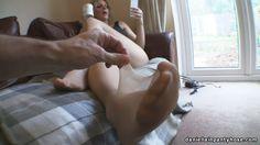 pantyhose foot fetish nylon toes - Daniella IN Pantyhose videos