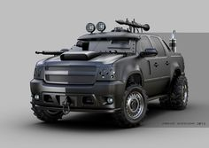 -- Share via Artstation iOS App, Artstation © 2016 Chevy Vehicles, Army Vehicles, Armored Vehicles, Monster Car, Chevrolet Avalanche, Chevrolet Silverado, Chevy S10, Lifted Chevy Tahoe, Avalanche Truck