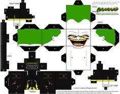Joker (Batman Beyond) Cubeecraft