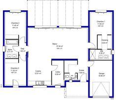 Plan de villa recherche google plan de maison for Construire une maison a 60000 euros