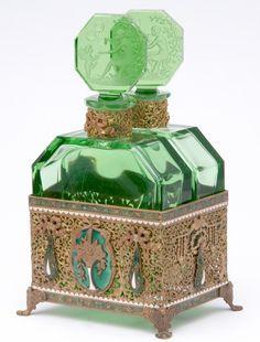 (Czech) 1920s Intaglio Hoffman mark. (via ♥ green & gold ♥)