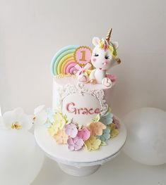 Orange cake without flour - HQ Recipes Cute Cakes, Pretty Cakes, Beautiful Cakes, Amazing Cakes, Fondant Cakes, Cupcake Cakes, Baby Birthday Cakes, Mom Birthday, Bolo Cake