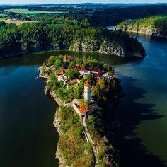 Zvíkov, South Bohemia, Czech Republic Bohemia Country, Prague Czech Republic, Destinations, Europe Photos, Green Landscape, Beautiful Places To Travel, Culture Travel, Day Trip, Albania