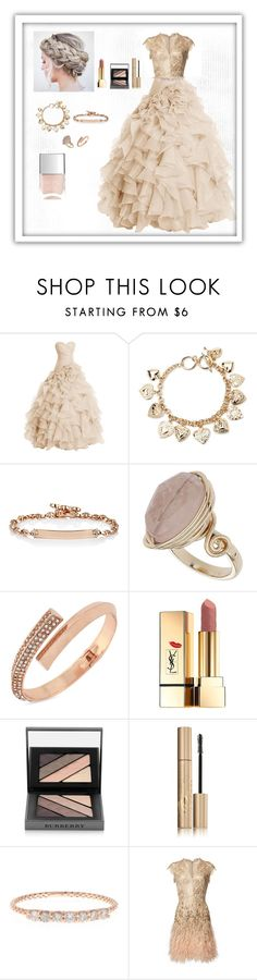 """Elegant Ballroom Outfit"" by lovelypassion27 ❤ liked on Polyvore featuring Forever 21, Hoorsenbuhs, Topshop, BCBGeneration, Yves Saint Laurent, Burberry, Stila, Jacquie Aiche, Nails Inc. and women's clothing"
